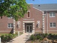 Williamson Hall at NSU, Natchitoches, LA IMG 1992.JPG