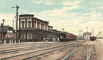 Williamsport, Pennsylvania - Williamsport station c. 1910