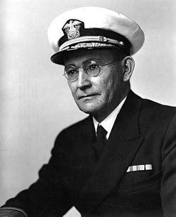 Rear Admiral Willis A. Lee، Jr.، USN; circa 1942.