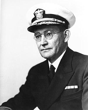 Willis Augustus Lee - Rear Admiral Willis A. Lee Jr., circa 1942.
