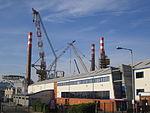 Wind turbine platform at Cammell Laird, Birkenhead (5).JPG
