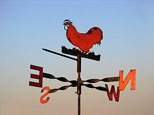 Wind direction - An example of a wind vane