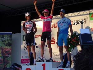 3-Länder-Tour - Winners' podium  at Stage 1 of the 2006 3-Länder-Tour in Kassel