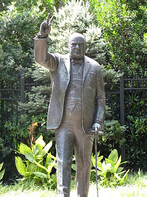 Embassy of the United Kingdom, Washington, D.C. - Winston Churchill, 1966 by William McVey