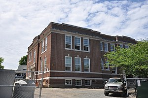 Highland School (Winthrop, Massachusetts) - Image: Winthrop MA Highland School