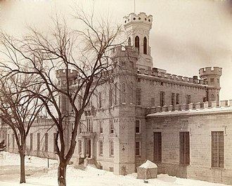 Waupun Correctional Institution - Photographed by H. H. Bennett in 1893