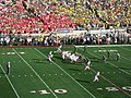 Wisconsin offense, 2012 Rose Bowl.JPG