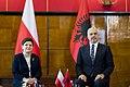 Wizyta premier Beaty Szydło w Albanii (31494584316).jpg