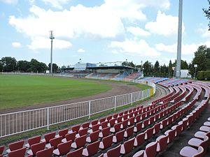 Odra Wodzisław - Stadium MOSiR in Wodzisław Śląski.