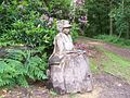 Wooden Sculpture of Lady Anne Blantyre - geograph.org.uk - 471296.jpg