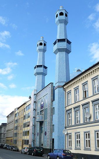 The World Islamic Mission's mosque in Oslo, Norway World Islamic Mission 1.jpg