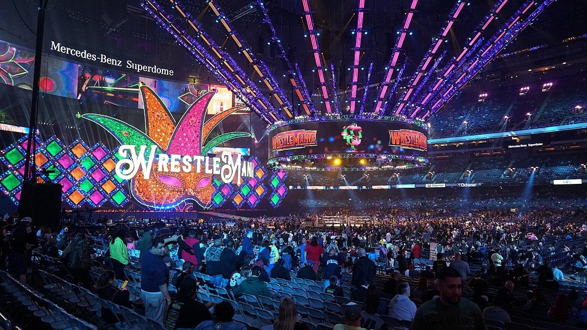 WrestleMania 34 - Wikipedia