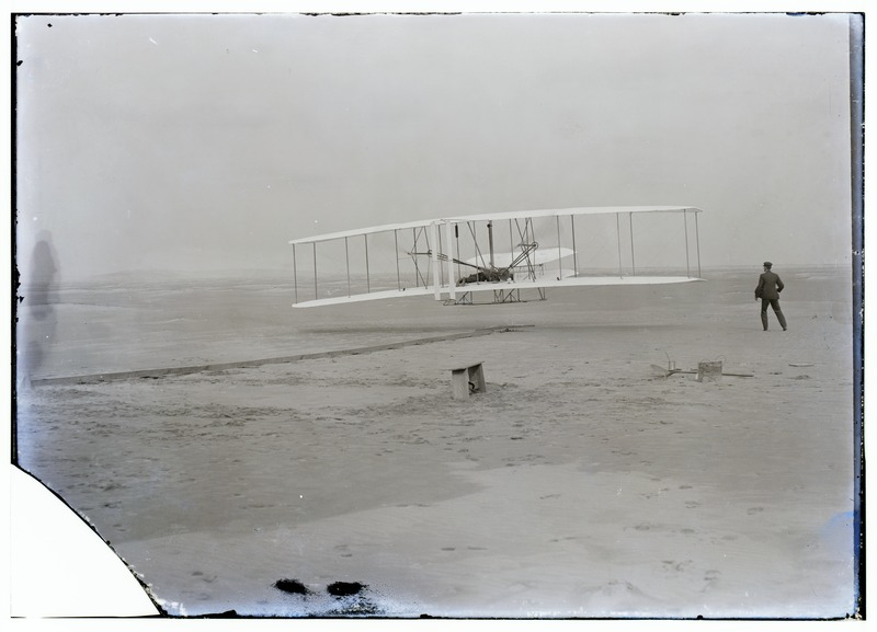 File:Wright first flight.tif