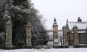 Wrotham Park - Entrance to Wrotham Park