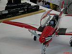 XVI Open de Plastimodelismo de Catanduva. Avião Embraer Tucano T-27 fabricado com papel. - panoramio.jpg