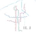 Xi'an Metro System Map 2018.png