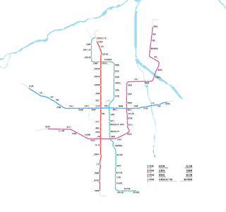 Xian Metro metro system in China