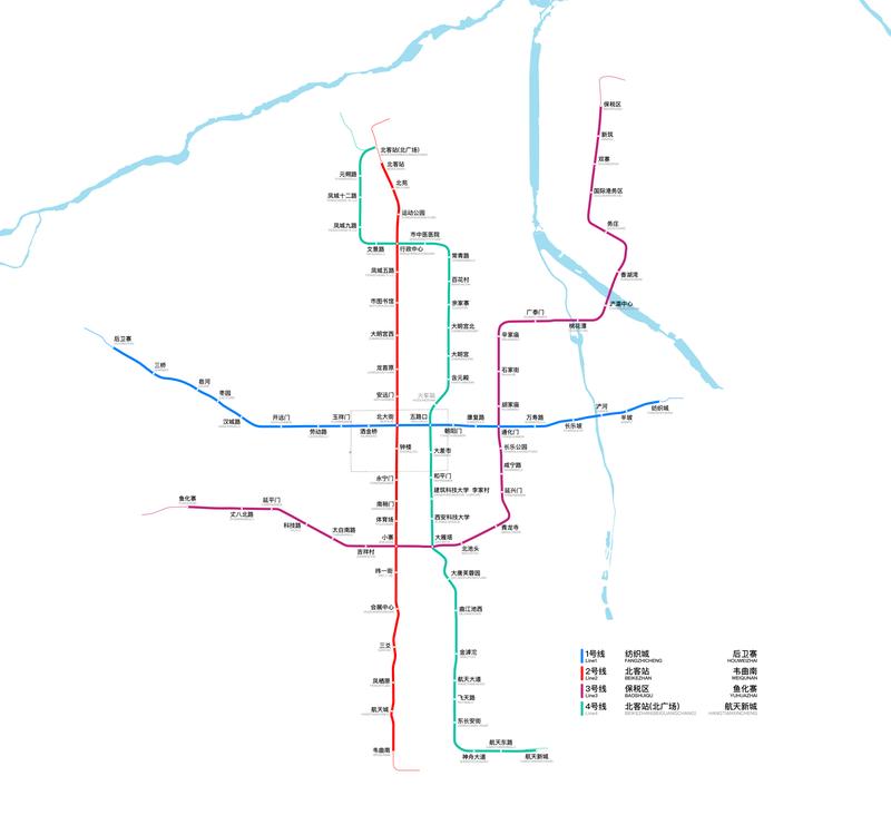 Xian Subway Map Pdf.Xi An Metro Wikipedia