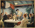 Yeats at Petitpas' by John Sloan, 1910-c.1914 - Corcoran Gallery of Art - DSC01177.JPG