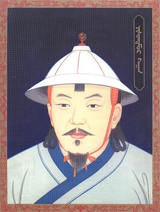 Yesün Temür (Yuan dynasty) - A modern portrait of Yesün Temür Khan (Emperor Taiding)