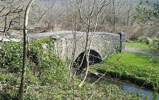 Ynysmeudwy Canal Bridge No8 (geograph 6436947)