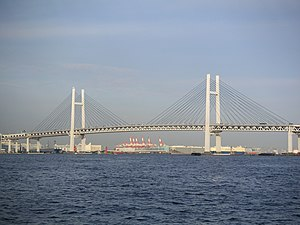 Yokohama Bay Bridge - Image: Yokohama Baybridge