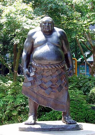 Tanikaze Kajinosuke - Image: Yokozuna Tanikaze Kajinosuke