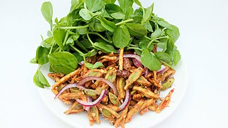 Singju - A Typical Manipuri Cuisine, Singju. Yongchaak Singju type is shown here.