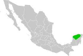 Yucatan in Mexico.svg