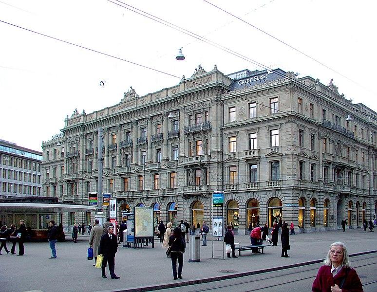 Súbor:ZH CS Paradeplatz.JPG