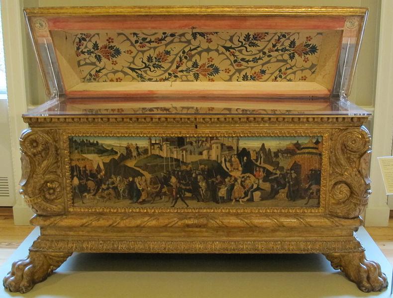 File:Zanobi di domenico, jacopo del sellaio e biagio d'antonio, cassone nerli, 1472, 01.JPG