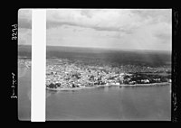 Zanzibar. Air view of the sea front LOC matpc.17656.jpg