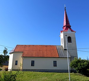 Željne - Saint Lawrence's Church