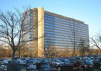 ZDF - The ZDF administrative headquarters in Mainz