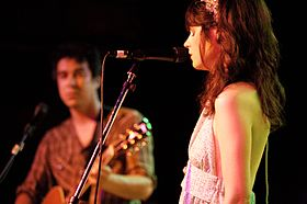 Zooey Deschanel of She & Him @ Mercy Lounge 07.jpg
