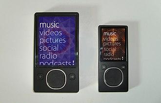 Zune - Zune 30/80/120 and Zune 4/8/16 menu system