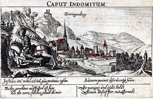 Zwingenberg Daniel Meisner 1624