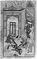 """A Fire-Worshipper Received at the Board of Abraham the Patriarch"", Folio from a Bustan (Orchard) of Sa'di MET 43297.jpg"
