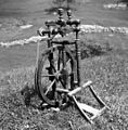 """""""Kalourat"""" (kolovrat) za vouno (volno) prest, star okoli 80 let, Vojsko 1959 (2).jpg"""