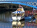 """Skylark II"" moored by Stourport Bridge, Stourport-on-Severn - geograph.org.uk - 1651760.jpg"