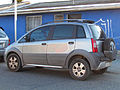 """ 08 - Italian XUV - Fiat Idea Adventure Brasil (Sud America) grey facing left - blue house.jpg"