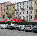 """ 12 Milan Design Week (Fuorisalone) Brera district 03.JPG"