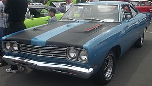 Plymouth Road Runner - Image: '69 Plymouth Road Runner (Rassemblement Mopar Valleyfield '10)