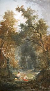 'The Glade' by Hubert Robert, Cincinnati Art Museum.JPG