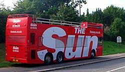 'The Sun' bus (9661587335).jpg