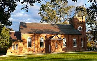 J. J. Stevenson - Anglican Church, Campbelltown