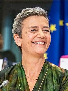Margrethe Vestager Danish politician