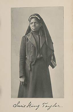 (Susie King Taylor, known as the first African American Army nurse) (LOC)