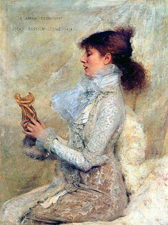 Jules Bastien-Lepage - Portrait of Sarah Bernhardt, 1879