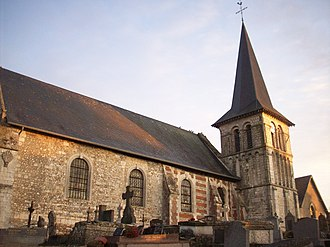 Brestot - The church in Brestot